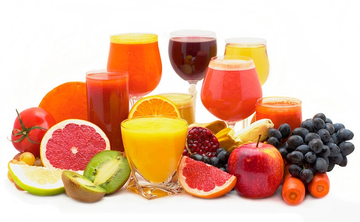 Fresh fruit and cold pressed juices for your detox retreat