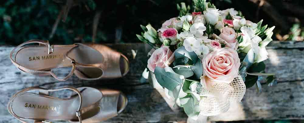 Flowers and our Wedding day beauty services for the perfect day